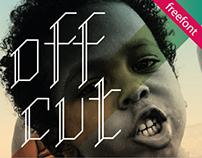 Off Cut - free font