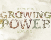 Illustrated Type (Growing Power)