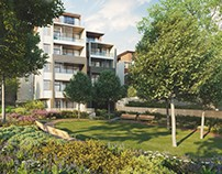 Tilia Apartments - CGI
