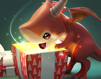 Happy new dragon