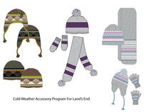 Cold Weather Accessories for Lands End