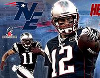 New England Patriots Design