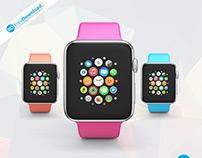 Realistic Smartwatch Mockup Free Psd