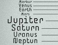 BD Jupiter Font