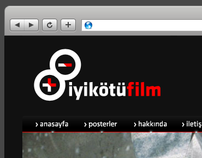 Iyi Kotu Film Blog Design