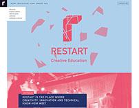 Restart website design