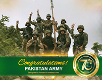 Pakistan Army -congratulation our pride