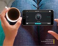 Android App for 'Streettalk' - UXD app design©