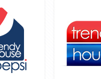 Pepsi . Logo Trendy House