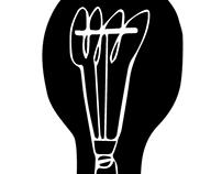 Edison Bulb Illustrations
