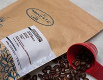 Embalagem de café para Vapore Café.