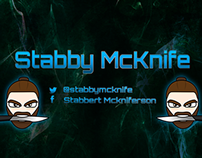 Twitch Stream Design for StabbyMcknife