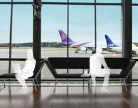 Airport Furniture Concept | Stockholm Arlanda Airport