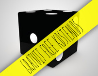 Goodie #3 - Free C4D Custom Dice (Xpresso Interface)