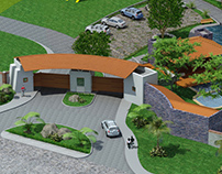 Proyecto Pueblo Real 3D en Colima.