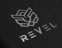 Revel- Logo design