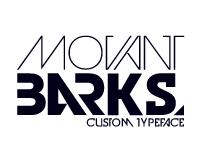 MOVANT BARKS™ Typeface