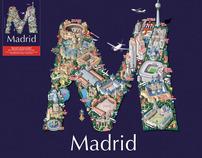 MAQUETA MAPA DE MADRID-TEATROS