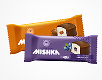 Branding and packaging design: Mishka