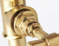 PIPE GOLD   decorative luminaires