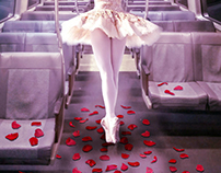 ballet in the train