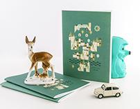 Ljubljana Cityscape Notebooks souvenir collection