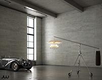Marie Coquine of Philippe Starck / CGI