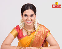 Diwali Campaign Shot for Sathya Retails