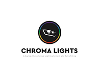 Concept Logo for Chroma Lights Lipa