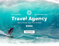 Travel Agency Landing Page