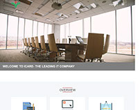 Responsive One Page Website or Landing Page for IT Firm