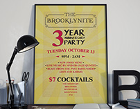 Brooklynite Anniversary Flyer