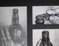 Life of beer, storyboard