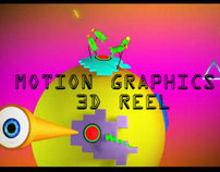 Motions Graphic and  3d  Reel