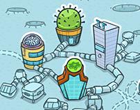 Space Program - educational web-based game