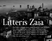 Font - Litteris Zaia
