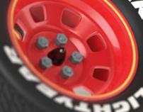 3D Disney Multi Vitamin Boxes - Packaging Visualisation