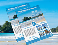 Flyer Design (Bangladesh Travel Agency)
