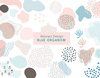Blue Organism - Abstract Design Kit