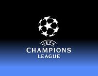 Afiche Champions League.