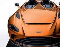 2020 Aston Martin V12 Speedster Wild Orange