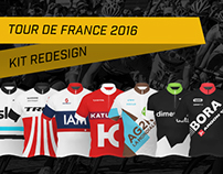 Tour de France 2016 - Team Kit Redesign