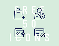 Free E-Commerce Icon Set