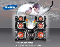 Samsuns Giga Sound- Impresión Digital
