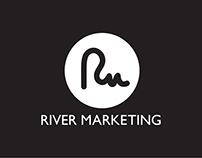 Logo design: River Marketing