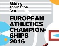 Bid EK Atletiek Amsterdam 2016 - 2011