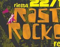 Rasta Rockers Flyers