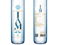 I AM water Product packaging /concept/