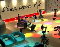 3D Model for Gym proposal