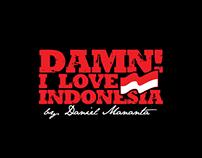 DAMN! I LOVE INDONESIA LOGO